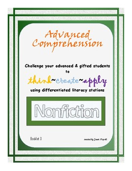 Advanced Comprehension Tasks III Nonfiction