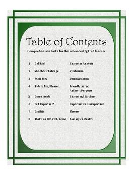 Advanced Comprehension Tasks V