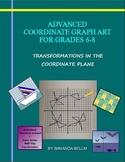 Advanced Coordinate Graph Art for Grades 6-8: Full eBook