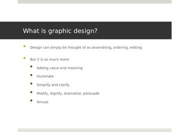 Advanced Design Powerpoint