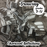 Advanced Drawing - Charcoal Reflections