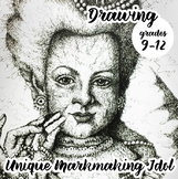 Advanced Drawing - Unique Mark-Making Idol