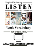 Quick Lesson - ESL Worksheets for Adults - Work Vocabulary