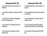 Advanced Edit Cards