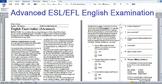 Advanced ESL/EFL English Exam: Steve Jobs reading; Phrases of Making Decisions.