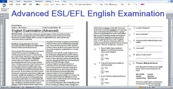 Advanced ESL/EFL English Exam: Steve Jobs reading; Phrases of Making Decisions.