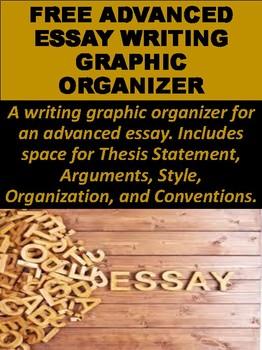 FREE Advanced Essay Writing Graphic Organizer