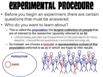 Advanced Experimentation PowerPoint (w/ Legos Replication Activity)
