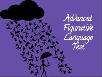 Advanced Figurative Language Terms Test