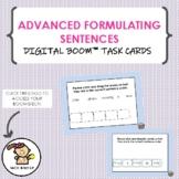 Advanced Formulating Sentences Task Cards