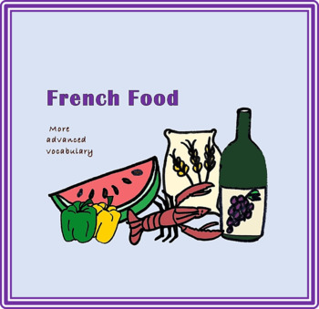 Advanced French Food Powerpoint