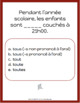 Advanced French Grammar: 50 Challenge Cards using TOUT