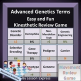 Advanced Genetics Terminology -- Kinesthetic Review Game