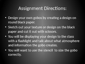 Advanced Gobo Design Assignment