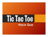 Advanced Hace Que Tic Tac Toe Partner Game
