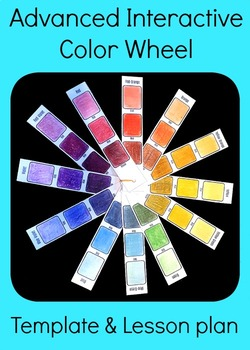 Advanced Interactive Color Wheel Middle High School Art Lesson Plan Template