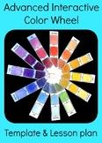 Advanced Interactive Color Wheel Middle High School Art Le