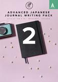 Advanced Japanese Journal Writing Pack 2