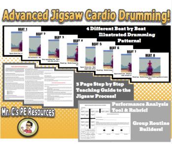 Advanced Jigsaw Cardio Drumming!
