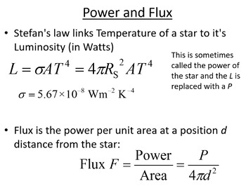 Advanced Level Astrophysics Black body Radiation (Lesson plan and PowerPoint)