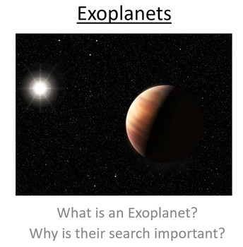 Advanced Level Astrophysics Exo-planets (Lesson & PowerPoint)
