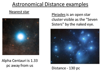 Advanced Level Astrophysics Magnitude and Parallax (Lesson plan and PowerPoint)