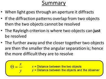 Advanced Level Astrophysics Non-Optical Telescopes (Lesson plan and PowerPoint)