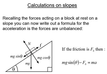 Advanced Level Physics - Bundle Chapter 8 - Newtons Laws (5 lessons)