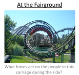 Advanced Level Physics - Fairground applications of circular motion (PowerPoint)