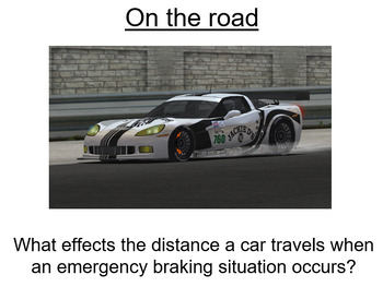 Advanced Level Physics - On the Road (Lesson plan and PowerPoint)