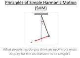 Advanced Level Physics - Simple Harmonic Motion (PowerPoint)