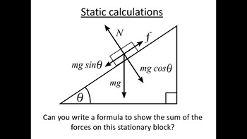 Advanced Level Physics - Static Calculations (Lesson plan and PowerPoint)