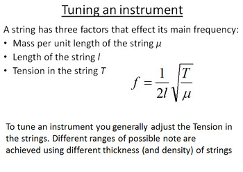 Advanced Level Physics - Stationary Waves on Strings (Lesson plan & PowerPoint)