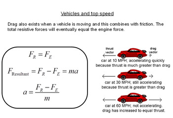 Advanced Level Physics - Terminal Speed / Velocity (Lesson plan and PowerPoint)