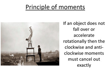 Advanced Level Physics - The Principle of Moments (Lesson plan and PowerPoint)
