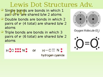 Advanced Lewis Dot Structure