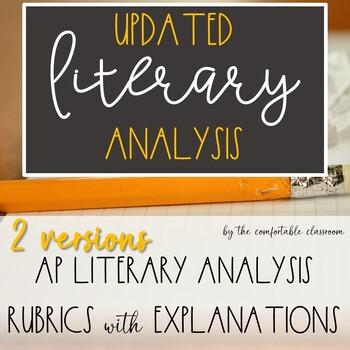 Advanced Literary Analysis Rubric