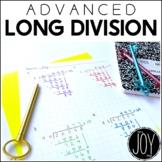 Advanced Long Division Kit