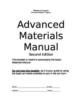 Advanced Materials Manual