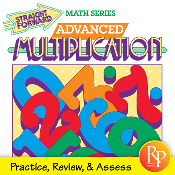 Advanced Multiplication Drills: Multiply 1-Digit to 4-Digit Numbers