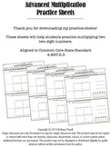 Advanced Multiplication Practice Sheets