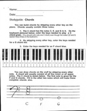 Advanced Music Theory Packet: Understanding Chords and Scales