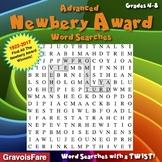 Ten Advanced Newbery Award Word Search Puzzles