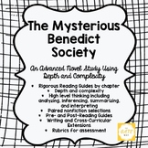 Advanced Novel Study: The Mysterious Benedict Society + Di