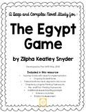 Advanced Novel Study for The Egypt Game using Depth and Co
