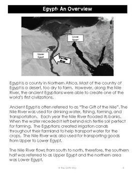 Advanced Novel Study for The Egypt Game using Depth and Complexity