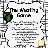 Advanced Novel Study for the Westing Game with Depth and C
