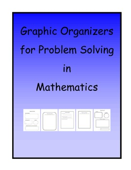 Advanced Organizers for Teaching Problem Solving in Math
