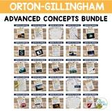 Advanced Orton-Gillingham Activities BUNDLE   Virtual Learning