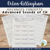 Advanced Orton-Gillingham Activities Sounds of CH /k/ and /sh/